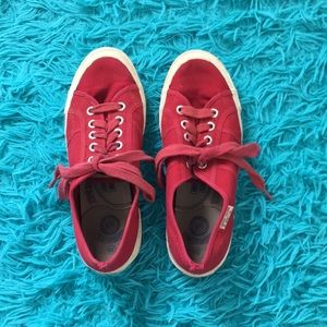 Benetton White Sneakers Reduced